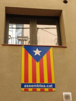 Katalanische Flagge
