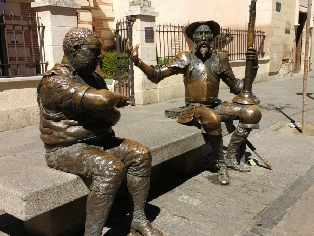 Don Quijote und Sancho Panza