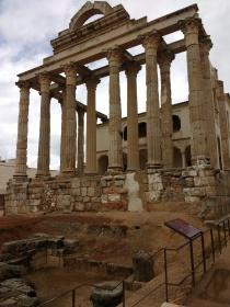 Mérida: römischer Tempel