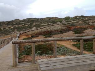 Aussichtspunkt an der Küste