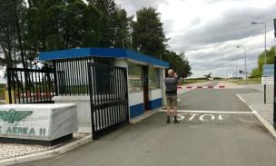 Pforte zur Airbase