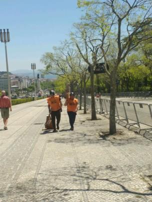 Seifenkisten am Park Eduardo