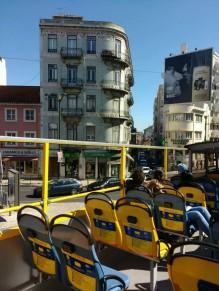 Im Yellowbus durch die Stadt