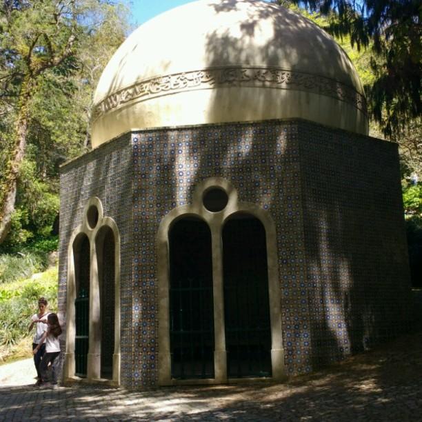 Pavillon im islamischen Stil