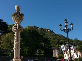 Schloss der Mauren auf dem Berg
