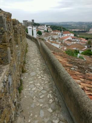 Auf der Stadtmauer