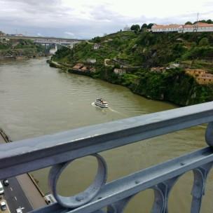 Porto: Blick auf den Rio Douro