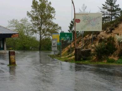 Spanische Grenze im Nationalpark