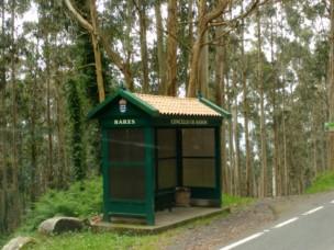 Die Galizischen Bushäuschen