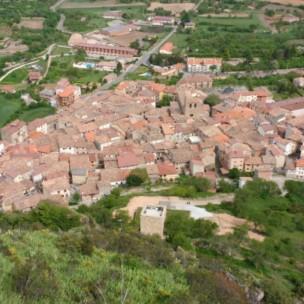 Blick auf Poza de la Sal;