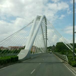 Logroño; Brücke über den Ebro
