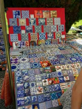 Azulejos auf dem Flohmarkt