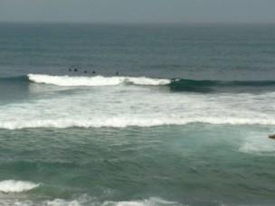 Die Surfwellen...