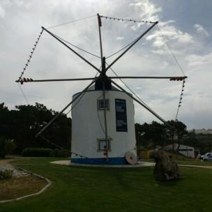 Windmühle am Campingplatz