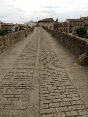 Pilgerbrücke in Puenta la Reina