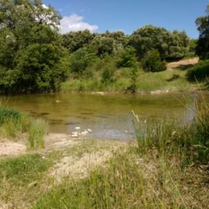 Standplatz am Fluss