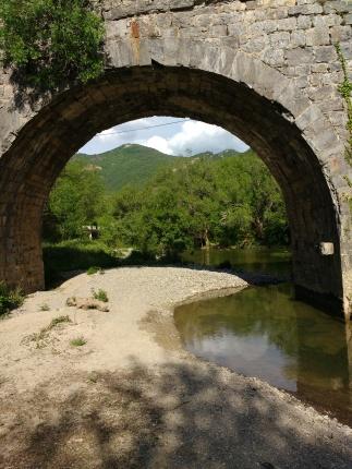 Brücke über den Salazar (Standplatz)