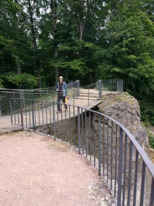 Auf der Teufelsbrücke