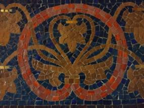 Mosaik-Ausschnitt