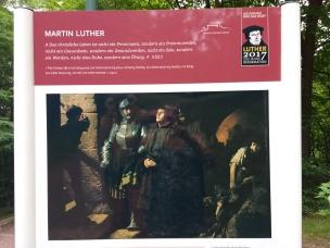 Luther kommt auf die Wartburg