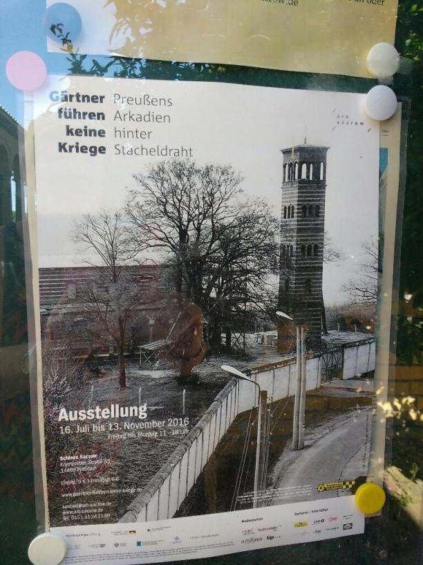 Die Heilandskirche direkt an der Mauer im Niemandsland...