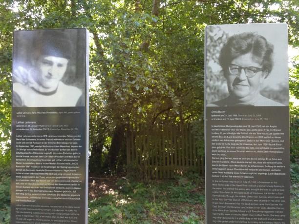 Diese beiden sind auf der Flucht durch die Havel ertrunken...