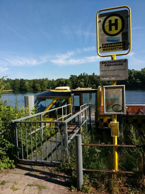 Anlegestelle Park Glienicke - Krughorn