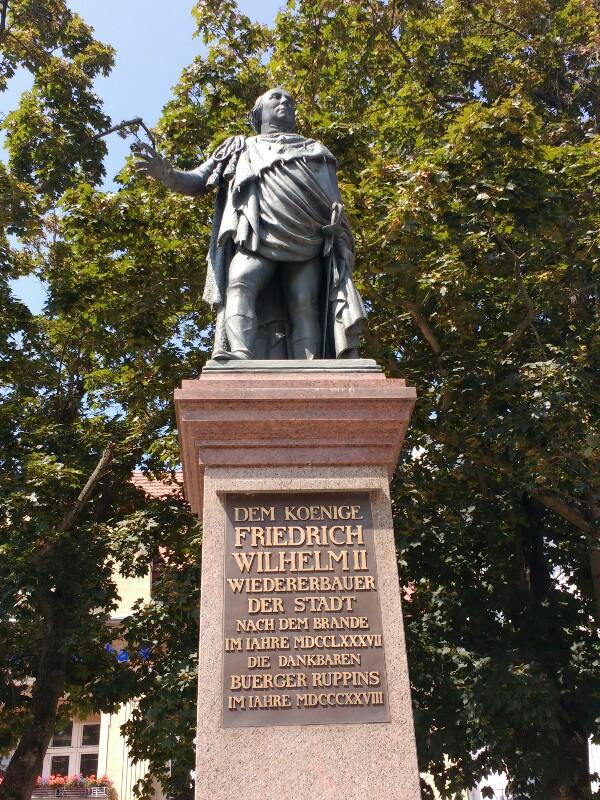 Denkmal Friedrich Wilhelm II.