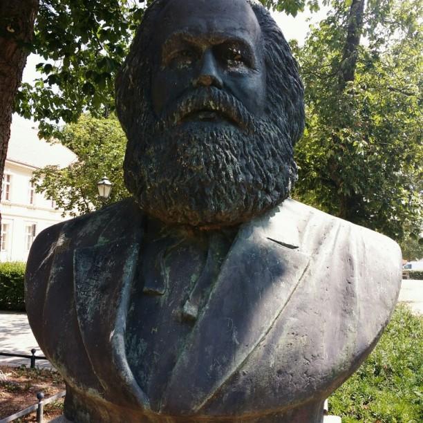 Marx-Büste