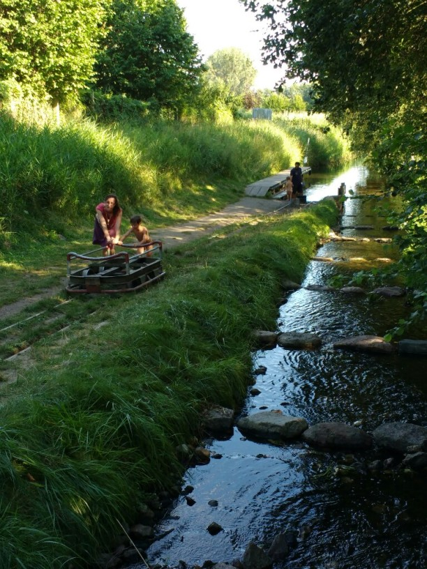 'Bootsschleppe' an der Havel