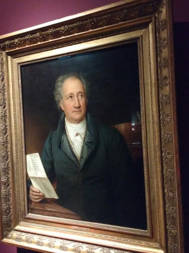 Immer wieder Goethe-Porträts...