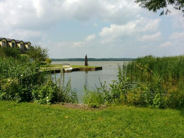 Blick auf den Zierker See...