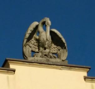 Der Pelikan wieder, vgl Marienburg