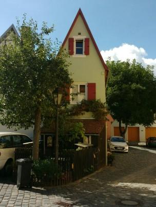 Das schmalste Haus in Nördlingen