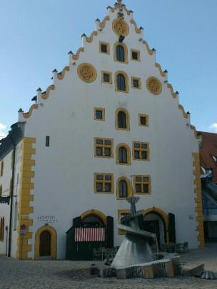 Das ehemalige Kloster, später Kornspeicher