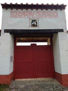 Großes Tor des römischen Landguts