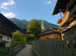 Alpbach, über 1000m hoch