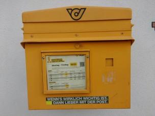 Briefkasten in Österreich