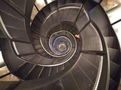 Der stylische Treppenaufgang