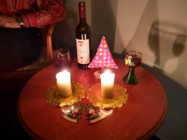 Unser ganz privates Weihnachtsplätzchen im Zimmer