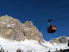 Seilbahn auf den Berg Laga Zuoi 2752m