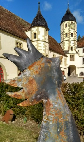 Kunst im Schlosshof Haigerloch