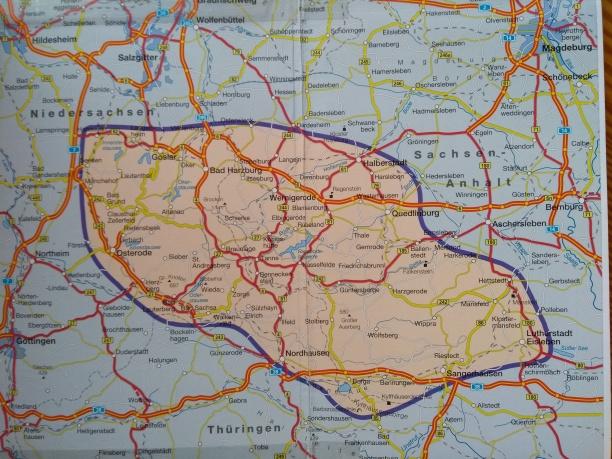 Der Harz: Sachsen-Anhalt, Thüringen und Niedersachsen