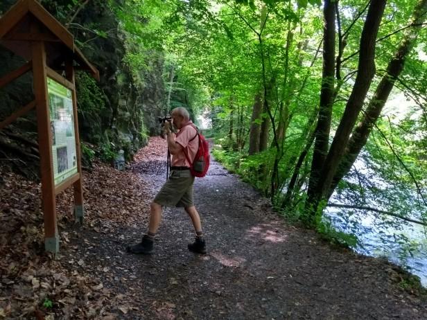 Bodetal-Wanderung; A fotografiert