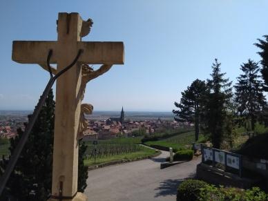 Blick auf Dambach-la-Ville