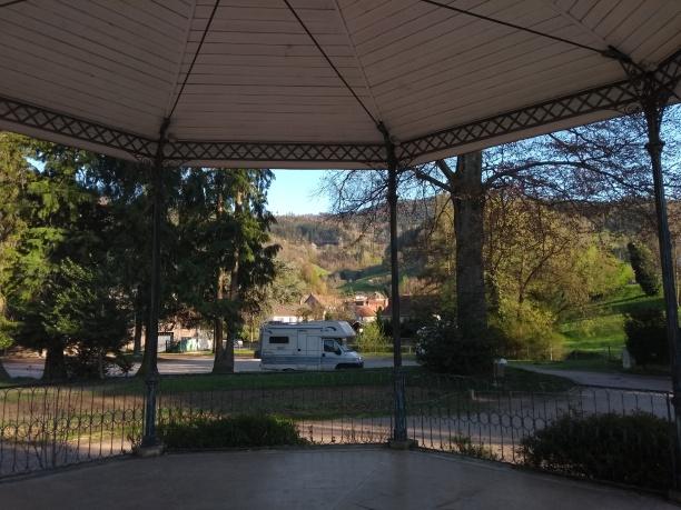 Am Stadtpark in Sainte-Marie-aux Mines