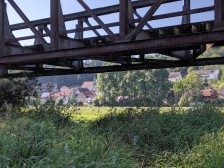 Ehemalige Schmalspur-Eisenbahnbrücke