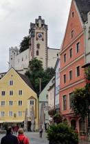 Blick aufs 'Hohe Schloss'