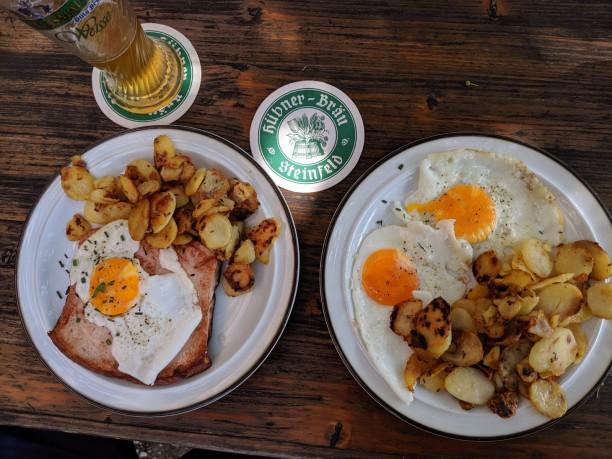 Frühstück sozusagen