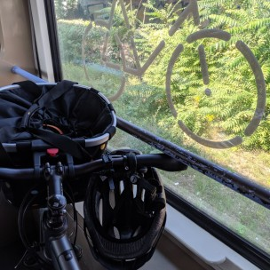 Mit den Rädern in der S-Bahn